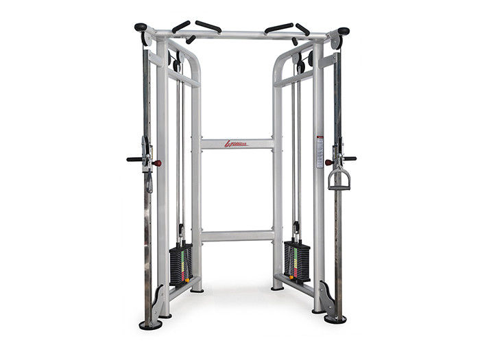 Adjustable Dual Pulley Cable Training Crossover Machine For Commercial Gym