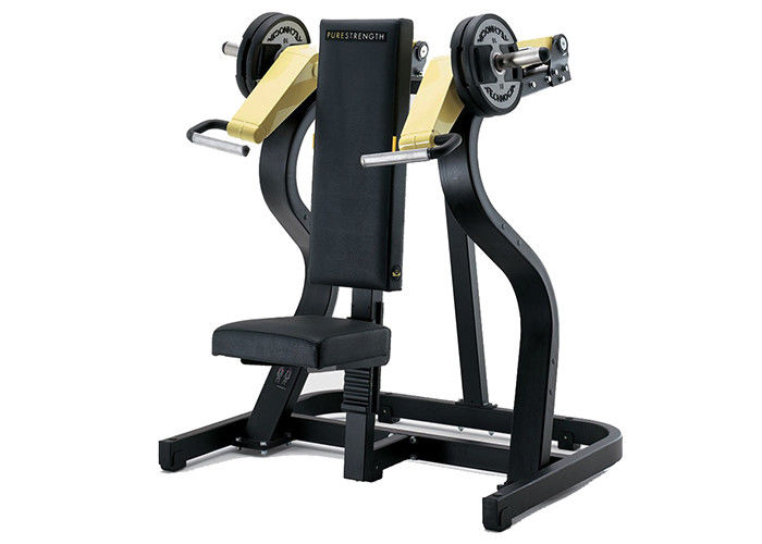 Gym Use Hammer Strength Plate Loaded Equipment , Shoulder Press Exercise Machine
