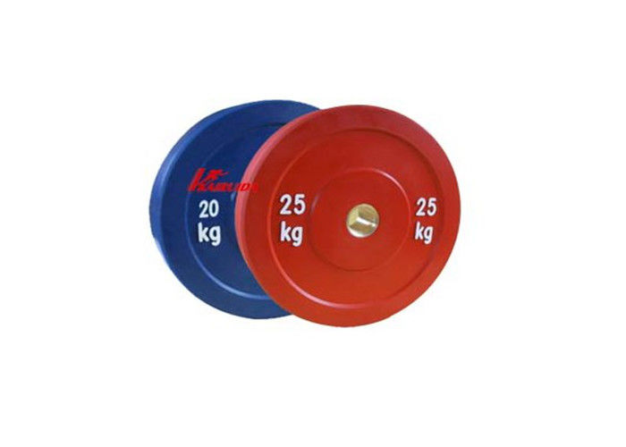 Multicolored Gym Workout Accessories Professional Bodybuilding Olympic Weight Plates