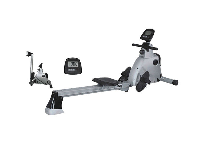 Professional Commercial Grade Gym Equipment , Cardio Folding Rowing Machine